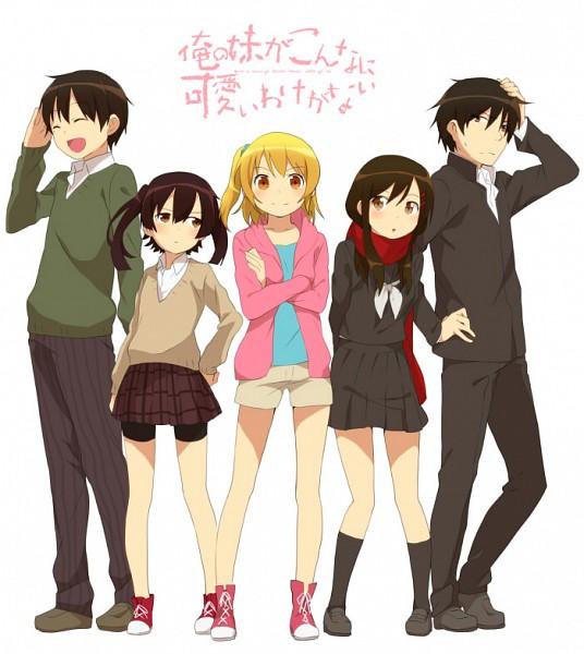 Tags: Anime, Yamabukiiro, Kagerou Project, Kisaragi Momo, Tateyama Ayano, Kisaragi Shintaro, Enomoto Takane, Kokonose