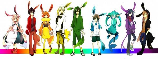 Tags: Anime, Pixiv Id 4341524, Kagerou Project, Kisaragi Momo, Seto Kousuke, Kozakura Marry, Kisaragi Shintaro, Kido Tsubomi, Kano Shuuya, Amamiya Hibiya, Enomoto Takane, Kokonose