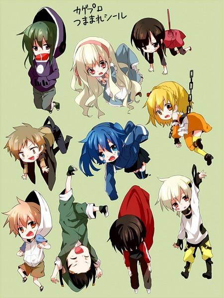 Tags: Anime, Yamabukiiro, Kagerou Project, Seto Kousuke, Kisaragi Momo, Kozakura Marry, Kisaragi Shintaro, Asahina Hiyori, Kano Shuuya, Kido Tsubomi, Enomoto Takane, Kokonose