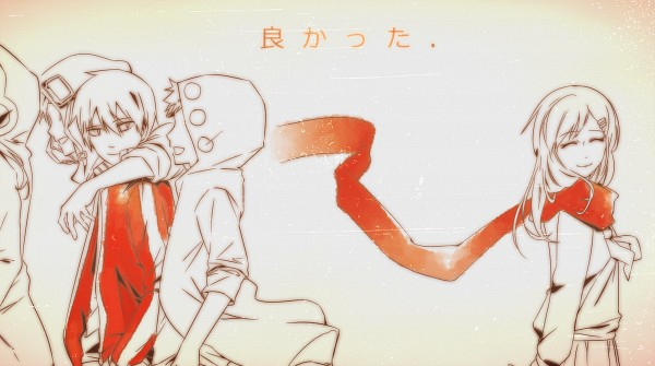 Tags: Anime, Fare, Kagerou Project, Kano Shuuya, Kido Tsubomi, Tateyama Ayano, Seto Kousuke, Kisaragi Shintaro, Facebook Cover, Wallpaper, The Story Of The Children That Rise Against