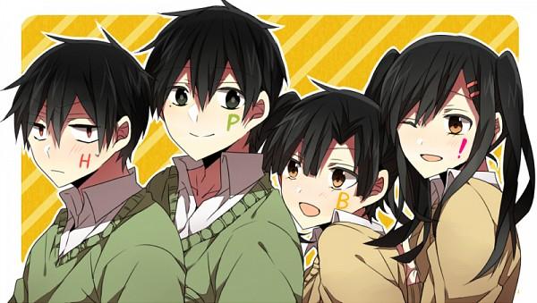 "Tags: Anime, Pixiv Id 5068689, Kagerou Project, Enomoto Takane, Tateyama Ayano, Kisaragi Shintaro, Kokonose ""Konoha"" Haruka, Enomoto Takane (Cosplay), Kokonose Haruka (Cosplay), Fanart, Facebook Cover"