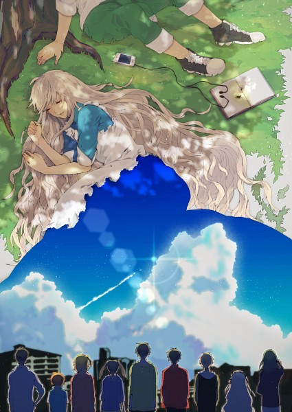 Tags: Anime, Pixiv Id 3205806, Kagerou Project, Kisaragi Momo, Enomoto Takane, Seto Kousuke, Kozakura Marry, Kisaragi Shintaro, Kido Tsubomi, Kano Shuuya, Amamiya Hibiya, Kokonose
