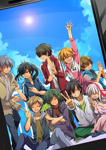 "Tags: Anime, Pixiv Id 335378, Kagerou Project, Kozakura Marry, Kisaragi Shintaro, Kido Tsubomi, Enomoto Takane, Kano Shuuya, Amamiya Hibiya, Kokonose ""Konoha"" Haruka, Kisaragi Momo, Seto Kousuke, Pixiv"