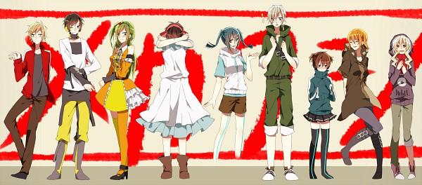 Tags: Anime, Pixiv Id 2169696, Kagerou Project, Seto Kousuke, Kozakura Marry, Kisaragi Shintaro, Kido Tsubomi, Enomoto Takane, Kano Shuuya, Amamiya Hibiya, Kokonose