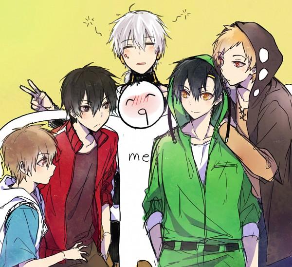 Tags: Anime, mery (dpqpqp550), Kagerou Project, Kisaragi Shintaro, Kano Shuuya, Kokonose