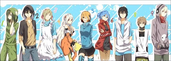 Tags: Anime, Pixiv Id 5139156, Kagerou Project, Kano Shuuya, Amamiya Hibiya, Kokonose