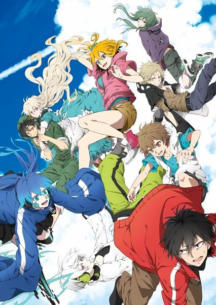 Tags: Anime, Pixiv Id 1834380, Kagerou Project, Kozakura Marry, Kisaragi Shintaro, Kido Tsubomi, Kano Shuuya, Amamiya Hibiya, Enomoto Takane, Kokonose