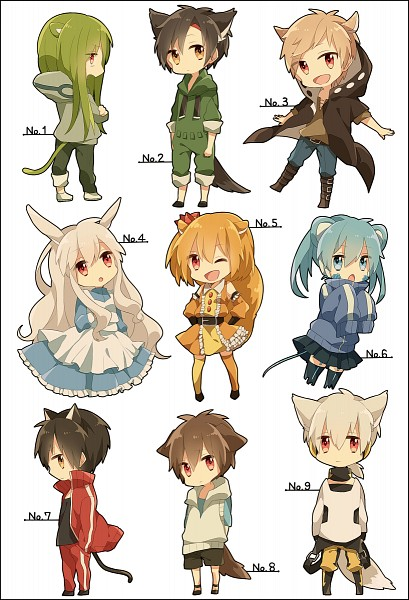 Tags: Anime, Pixiv Id 1925620, Kagerou Project, Enomoto Takane, Kano Shuuya, Amamiya Hibiya, Kokonose