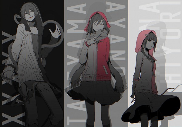 Tags: Anime, Pixiv Id 10351796, Kagerou Project, Dark Konoha, Tateyama Ayano, Kokonose
