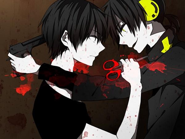Tags: Anime, Pixiv Id 2066175, Kagerou Project, Dark Konoha, Kisaragi Shintaro, Kokonose