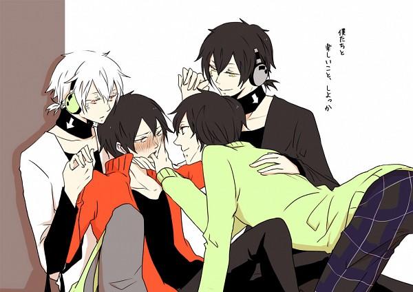 Tags: Anime, Chimaki, Kagerou Project, Dark Konoha, Kisaragi Shintaro, Kokonose
