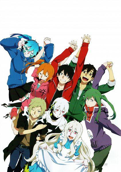 Tags: Anime, Shaft (Studio), Kagerou Project, Kokonose