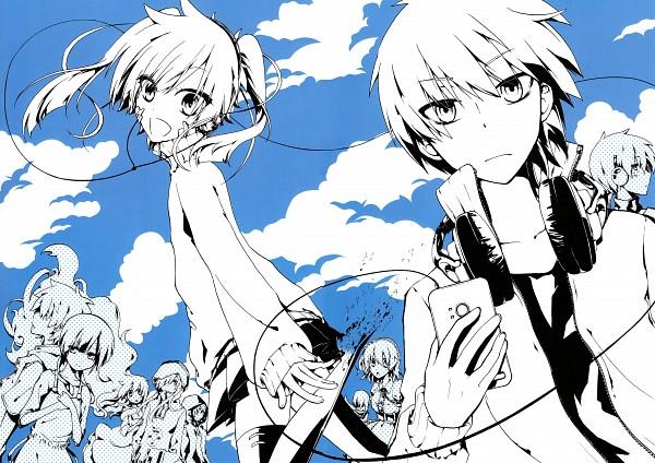 Tags: Anime, Satou Mahiro, Kagerou Project, Kido Tsubomi, Kano Shuuya, Kokonose
