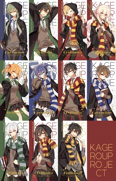 "Tags: Anime, NINE (Sapphire), Kagerou Project, Dark Konoha, Kano Shuuya, Amamiya Hibiya, Azami (Kagerou Project), Enomoto Takane, Kokonose ""Konoha"" Haruka, Tateyama Ayano, Kisaragi Momo, Seto Kousuke, Kozakura Marry"