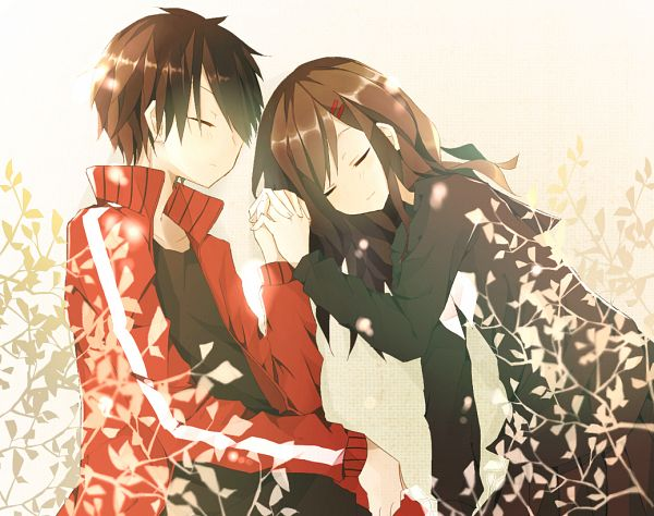 Tags: Anime, Pixiv Id 5841281, Kagerou Project, Tateyama Ayano, Kisaragi Shintaro, Pixiv, Fanart, Fanart From Pixiv, PNG Conversion, The Story Of The Children That Rise Against