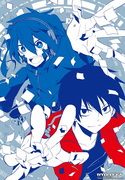 Tags: Anime, Kagerou Project, Enomoto Takane, Kisaragi Shintaro, Artist Request, Official Art, The Story Of The Children That Rise Against