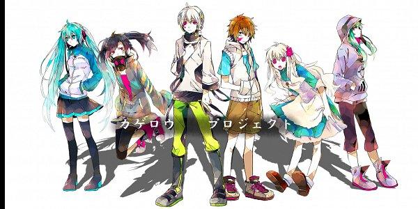 Tags: Anime, Daburyuu, Kagerou Project, Amamiya Hibiya, Kokonose