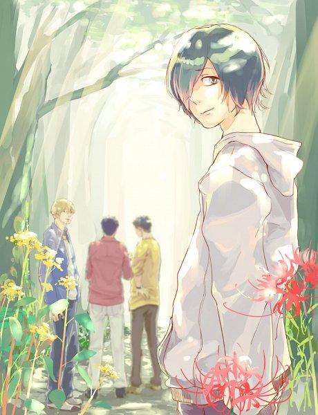 Tags: Anime, Pixiv Id 12236134, Kagewani, Daiki (Kagewani), Shigeru (Kagewani), Sho (Kagewani), Komori Satoru, Fanart From Pixiv, Pixiv, Fanart