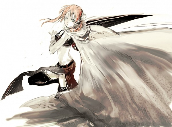 Tags: Anime, Pixiv Id 4277119, Gintama, Kagura (Gin Tama), Pixiv, Revision, Sketch, 2 Years After, Fanart From Pixiv, Fanart