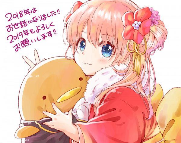 Tags: Anime, Pixiv Id 17425944, Gintama, Kagura (Gin Tama), Fanart, Fanart From Pixiv, Pixiv
