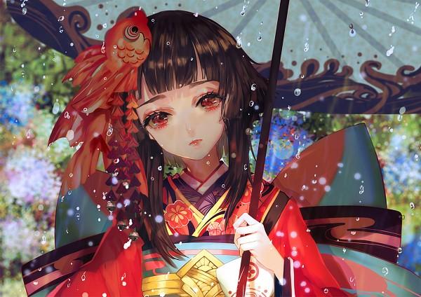 Tags: Anime, Say HANa, Onmyouji (NetEase), Kagura (Onmyouji), Fanart From Pixiv, Pixiv, Fanart