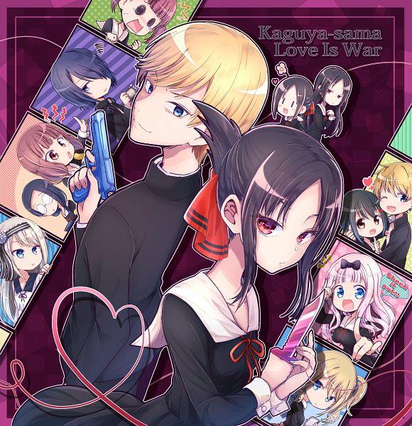 Tags: Anime, Pixiv Id 231005, Kaguya-sama wa Kokurasetai, Kashiwagi Nagisa, Shirogane Miyuki (Kaguya-sama wa Kokurasetai), Osaragi Kobachi, Ishigami Yuu, Shirogane Kei, Shinomiya Kaguya, Shijou Maki, Hayasaka Ai, Tanuma Tsubasa, Fujiwara Chika, Kaguya-sama: Love Is War