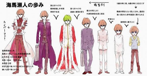 Tags: Anime, Pixiv Id 552656, Studio Gallop, Yu-Gi-Oh! Season Zero, Yu-Gi-Oh!, Yu-Gi-Oh! Duel Monsters, Kaiba Seto, Timeline, Age Progression, Facebook Cover, Fanart, Pixiv