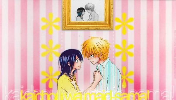 Tags: Anime, Kaichou wa Maid-sama!, Usui Takumi, Ayuzawa Misaki, Painting (Object)