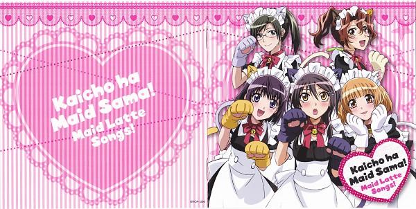 Tags: Anime, Fujiwara Hiro, J.C.STAFF, Kaichou wa Maid-sama!, Subaru (Maid-sama), Ayuzawa Misaki, Erika (Maid-sama), Honoka (Maid-sama), Hyoudou Satsuki, Facebook Cover, Official Art