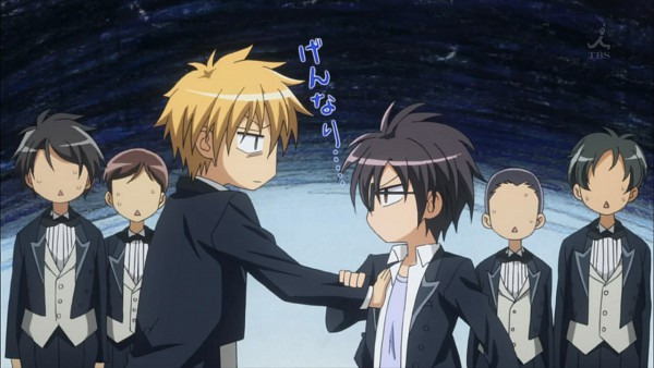 Tags: Anime, Kaichou wa Maid-sama!, Ayuzawa Misaki, Usui Takumi, Facebook Cover, Wallpaper, Screenshot