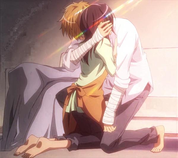 Tags: Anime, Kaichou wa Maid-sama!, Ayuzawa Misaki, Usui Takumi, Screenshot