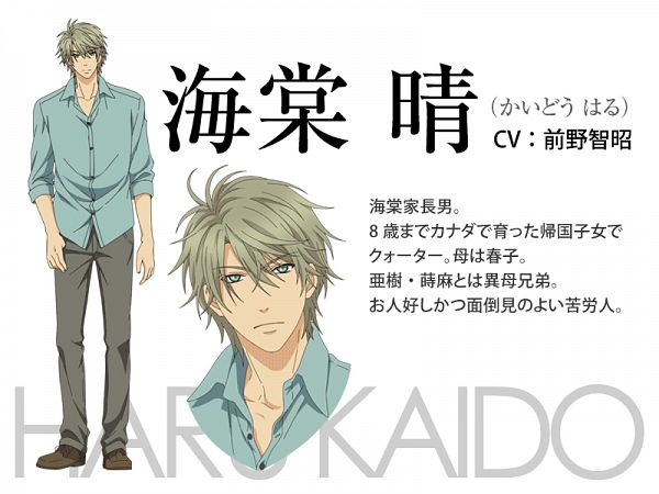 Kaidou Haru - Super Lovers