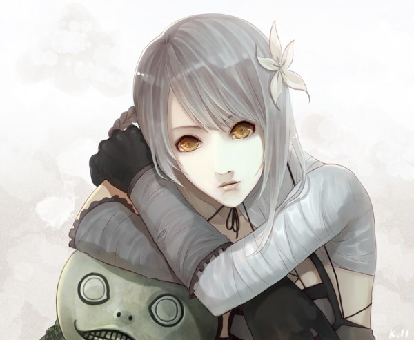 Tags: Anime, Red Melody, SQUARE ENIX, NieR, Kaine, Emil (NieR)