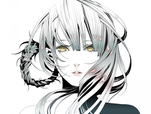 Tags: Anime, Nomura Tetsuya, NPN, SQUARE ENIX, NieR, Kaine, Glowing Hair, Beautiful Eyes, Fanart
