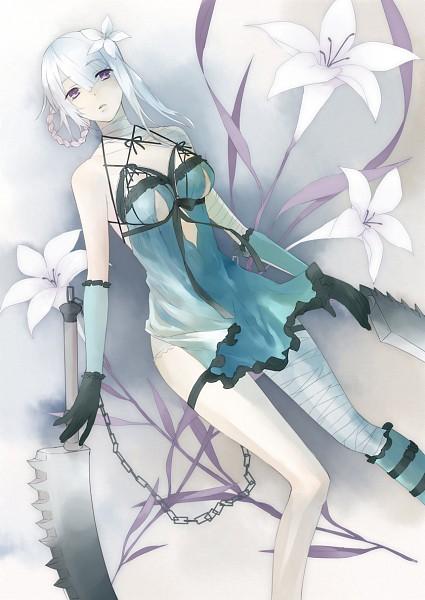 Tags: Anime, SQUARE ENIX, NieR, Kaine, Mobile Wallpaper