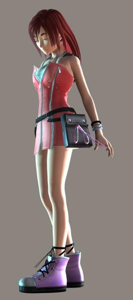 Tags: Anime, Monty Oum, Dead Fantasy, Kingdom Hearts, Kingdom Hearts II, Kairi (Kingdom Hearts), 3D