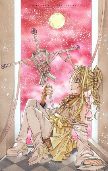 Tags: Anime, Tanemura Arina, Kamikaze Kaitou Jeanne, Kaitou Jeanne, Kusakabe Maron, Mobile Wallpaper