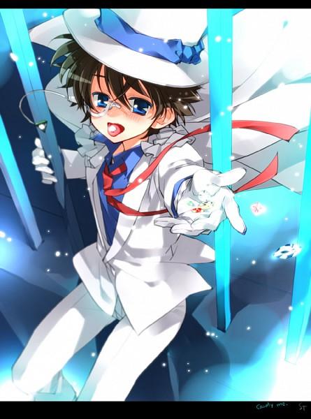 Tags: Anime, Toujou Sakana, Magic Kaito, Kaitou Kid, Kuroba Kaito, Pixiv, Fanart