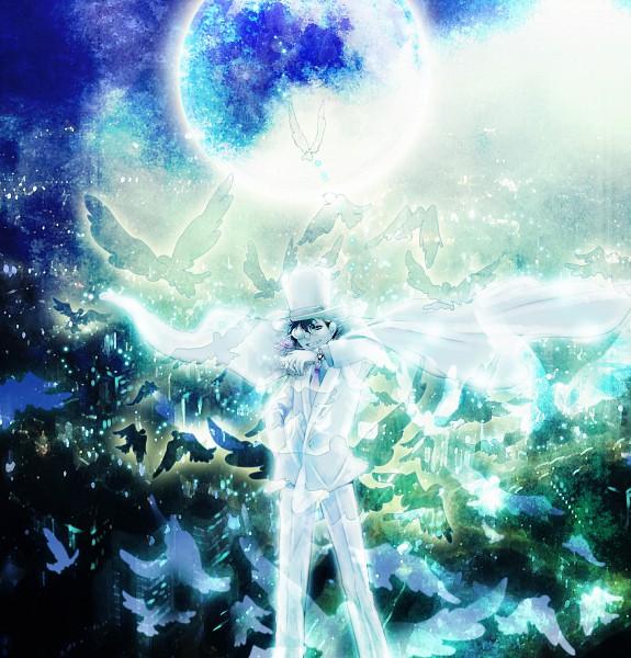 Tags: Anime, Tennen Hz, Magic Kaito, Kaitou Kid, Kuroba Kaito, Fanart, Pixiv