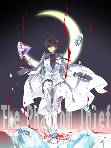 Tags: Anime, Fujimura Ayumi, Magic Kaito, Kuroba Kaito, Kaitou Kid, Diamond (Gem)