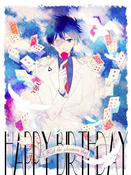 Tags: Anime, Magic Kaito, Kaitou Kid, Kuroba Kaito, Fanart, Fanart From Pixiv, Pixiv