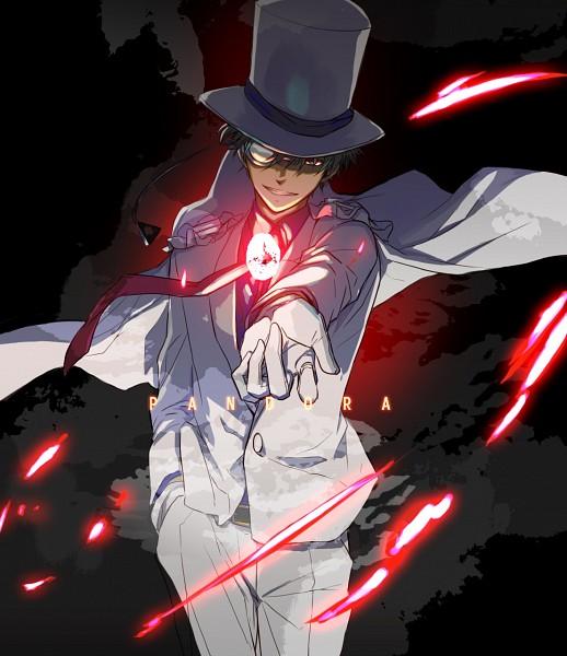 Tags: Anime, Tosyoen, IDEA FACTORY, Magic Kaito, Pandora, Kuroba Kaito, Kaitou Kid, Glowing Stone, Fanart, Pixiv