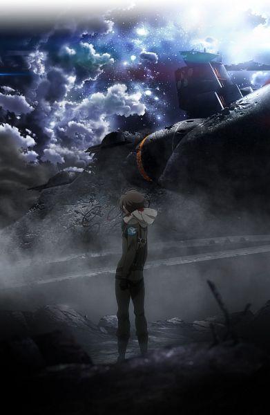 Tags: Anime, A-1 Pictures, TROYCA, Aldnoah Zero, Kaizuka Inaho, Mobile Wallpaper, Official Art