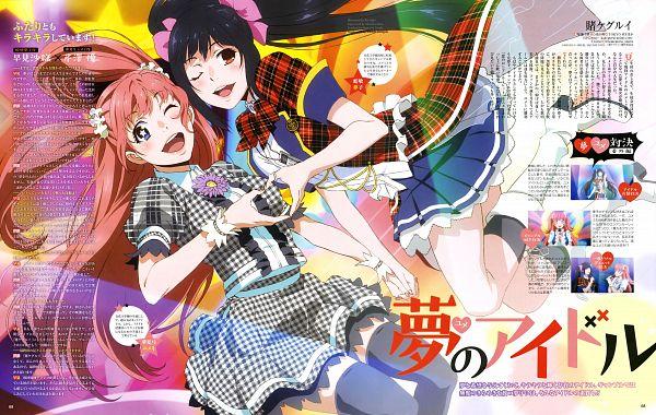 Tags: Anime, MAPPA, Kakegurui, Yumemite Yumemi, Jabami Yumeko, Scan, Official Art, Magazine (Source)