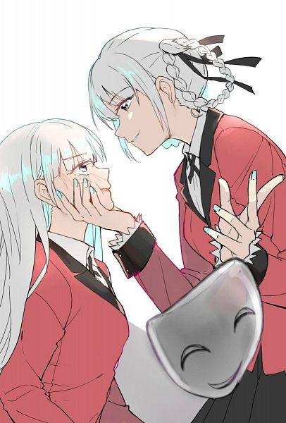 Tags: Anime, 7hai0707, Kakegurui, Momobami Ririka, Momobami Kirari, Twitter