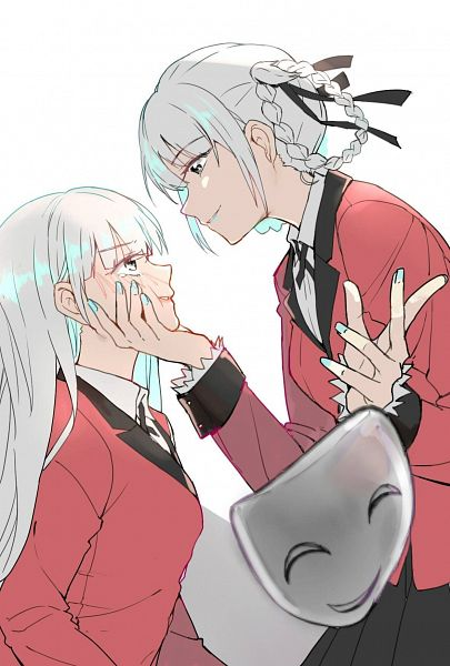 Tags: Anime, Eris.Y, Kakegurui, Momobami Ririka, Momobami Kirari, Twitter
