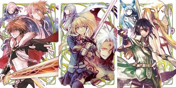 Tags: Anime, yooani, SQUARE ENIX, Kaku-san-sei Million Arthur, Arthur (Blade Protector), Elle (Million Arthur), Arthur (Techno Smith), Gawain (Million Arthur), Arthur (Sorcery King), Reafe, Lancelot (Million Arthur), Faye (Million Arthur), Galahad (Million Arthur)