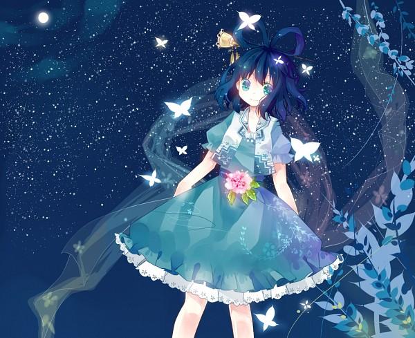 Tags: Anime, Kuromomo, Touhou, Kaku Seiga, Fanart From Pixiv, Pixiv, Fanart, Seiga Kaku