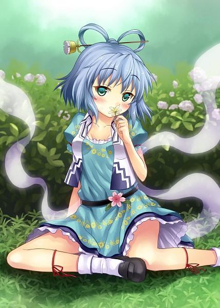 Tags: Anime, Rasahan, Touhou, Kaku Seiga, Shawl, Pixiv, Fanart, Seiga Kaku