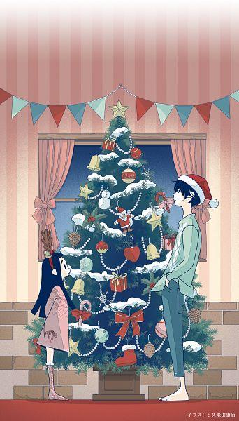Tags: Anime, Kumeta Kouji, Ajiado, Kakushigoto, Gotou Hime, Gotou Kakushi, Official Art, Key Visual
